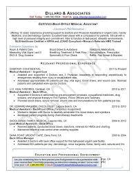 3 sec. 6/21. Certified Back Office Medical Assistant