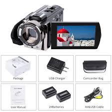 Video Camera Camcorder Digital YouTube Vlogging Camera Recorder kictec