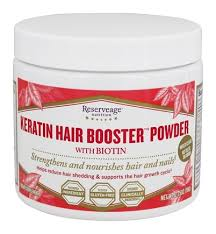 kerotin hair growth formula. Reserveage Nutrition - Keratin Hair Booster Powder With Biotin 2.75 Oz. Kerotin Growth Formula R