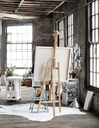 The Most Beautiful Artist's Studios on the Planet KATIE STRATTON'S AIRY  STUDIO