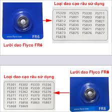 Bộ 3 lưỡi dao máy cạo râu Flyco FR8, giá chỉ 249,000đ! Mua ngay kẻo hết!