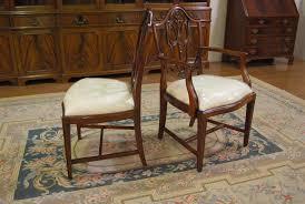 Mahogany Shield Back Dining Chairs Shield Back Dining Chairs - Shield back dining room chairs