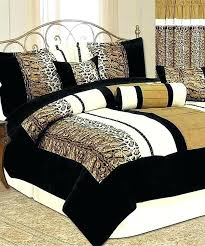 leopard print comforter sets intended for cheetah inspirations 10