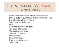 Phenomenal Woman Quotes