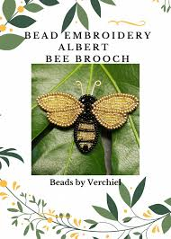 Jewellery Making - Bead embroidery Albert Bee B... - Folksy