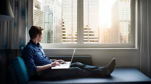 home office work. working from home is enormously popular these days as many more people are either starting their own businesses or employed with a company which allows them office work e