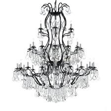 large wrought iron chandelier crystal trimmed chandelier large foyer entryway wrought iron chandelier chandeliers lighting with