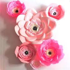 Rose Paper Flower Making Crepe Paper Flowers