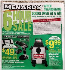 Menards 2014 Black Friday Ad - Black Friday Archive - Black Friday Ads from  the Past
