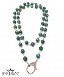 trunk show the woods fine jewelry green chain