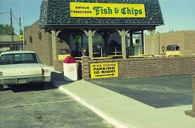 Arthur Treachers Fish And Chips Vintage Restaurant Kansas