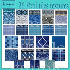 vintage swimming pool tile photo 1