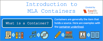 Current Mla Edition Visual Guide To Mla 8 Containers Easybib Blog