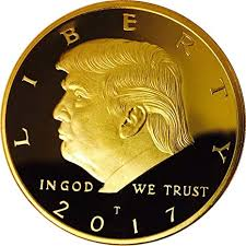 Donald Trump Gold Coin, Gold Plated Collectable ... - Amazon.com