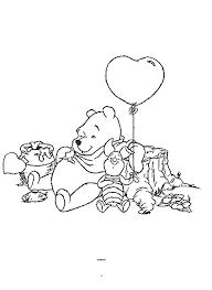 Disegni Da Colorare Winnie The Pooh E Pimpi Con Palloncino Disegni