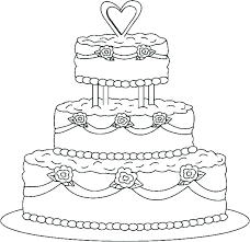 Cakes Coloring Pages Birthday Cakes Coloring Pages Unicorn Birthday