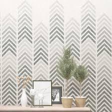 gerard geometric wall stencil modern