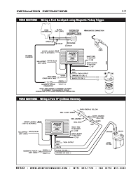 msd ignition wiring diagrams throughout mallory unilite Msd Wiring Diagrams msd 6200 wiring diagram msd wiring diagrams and tech notes