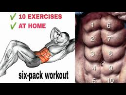 best 10 abs exercises home workout