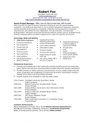 Sample Project Manager Resume Objective Dental Resume Samples Construction Project Manager Resume 45