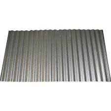 union corrugating 2 33 ft x 8 ft corrugated steel roof panel