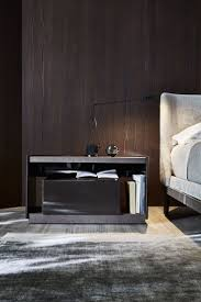 Wooden bedside table with drawers 5050
