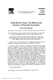 Pdf Book Review Essay The History And Practice Of Feminist
