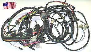 amx electrical instruments main wiring harness w 140 speedo under hood under dash 1 required