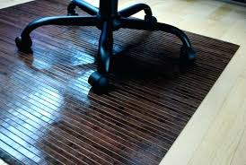 chair mat office hard floor protection for tile rug computer rolling clear plastic