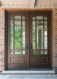painted double front door. Double Door Clear Beveled Glass W Praise Grills Pre Hung Prefinished Wood Front Entry Doors In Painted P