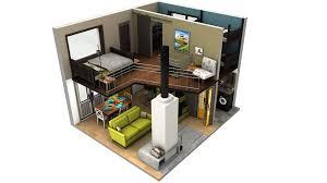 tiny house floor plan loft