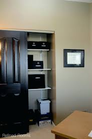 home office in a closet. Office In Closet. Supply Closet Ideas Home Organization Systems Organize Maintain A .