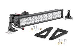 Cree Vs Led Light Bar 20 Inch X5 Series Cree Led Light Bar Grille Mounts Kit