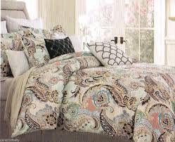 paisley bedding sets king paisley aqua lime green blue brown peach 6 for paisley comforter sets paisley bedding sets olive green