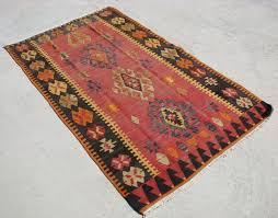 details about 1950 60s anatolian hand woven turkish kilim rug 3 5 7 x 5 10 5