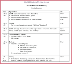 Board Meeting Agenda Template – Syounizensoku.info
