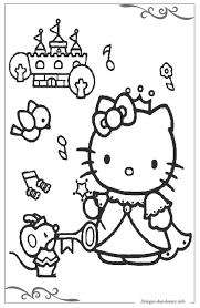 Hello Kitty Pagine Da Colorare Per Bambini Stampabili Gratuitamente