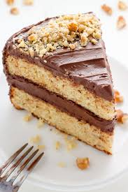 Old Fashioned Banana Cake With Chocolate Cream Cheese Frosting
