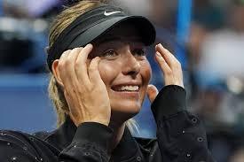 Картинки по запросу фото Шарапова вылетела с US Open
