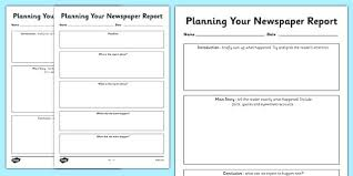 Newspaper Template For Middle School Article – Azserver.info