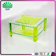 living room acrylic furniture tea table acrylic coffee table