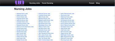 10 best nursing job search sites