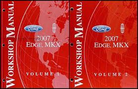 2007 ford edge lincoln mkx wiring diagram manual original 2007 ford edge lincoln mkx repair shop manual 2 volume set original 139 00