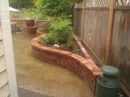 brick planter american traditional