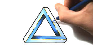 Triangle Design Drawing Easy How To Draw A Penrose Triangle Tattoo Design Style