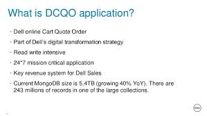 Dell Quote To Order Enchanting MongoDB World 48 Breaking The Mold Redesigning Dell's ECommerce