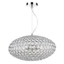 kyrie 3 light ceiling pendant polished chrome clear polished chrome