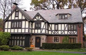 english tudor homes | Multi-paned Windows : Tudor Revival homes often  feature large banks