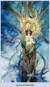 Image result for images of Queen of Pentacles