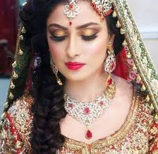 indian bridal makeup images free